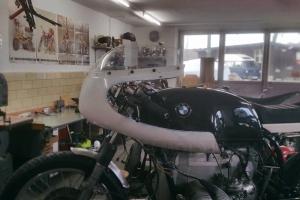 SET - Polokapotáž GFK  Aermacchi 250-350-402cc na moto BMW R65