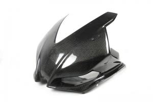 Upper part racing carbon polished