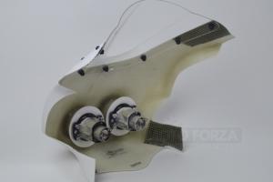 Aprilia RSV 1000 Tuono 2003-2005 Upper part street - small with projectors and screen - SET, GFK