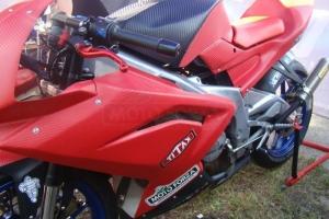Díly na motocyklu s carbon folií - Aprilia rs 125 06-10 SP