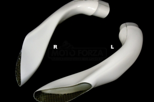 Airducts white GFK