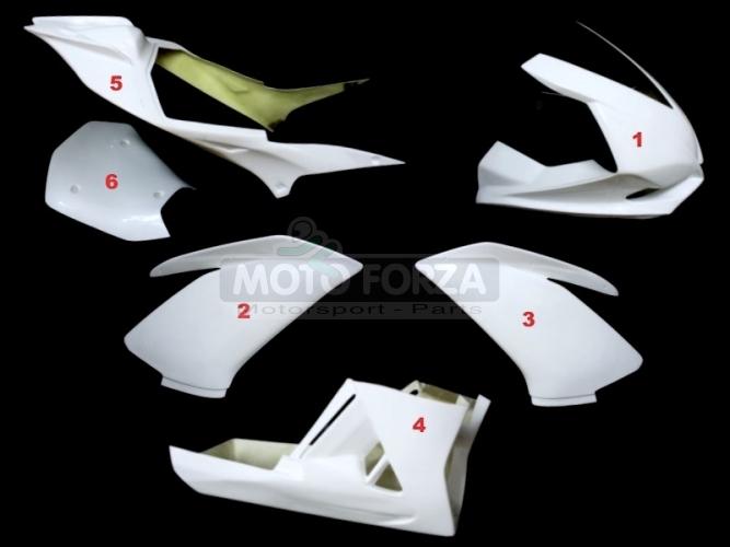 Complete set 6-pieces racing version