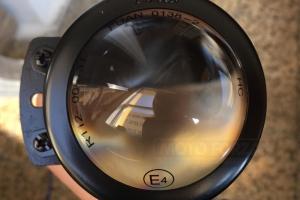 Světlomet 50mm - potkávací