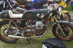 Tank version 2 on bike  Motoguzzi V50