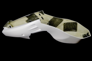 Seatbase with tank cover, GRP, Bimota YB8, Furano, (YB11)