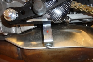 Mounting kit - include the price - preview position on bike