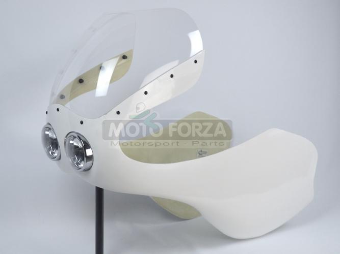 UNI / ČZ 250 Junior - Kapotáž se světlem 2x90mm Boldor - Set