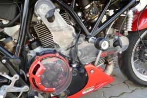 Klín na Ducati Sport 1000 caferacer