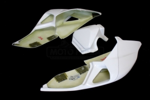 Ducati 899 1199  Seat open (stock seat) - 3-component
