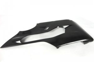Ducati 899 1199  Side part Right OEM - lower part, CARBON
