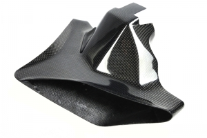 Airduct carbon for original front bracket