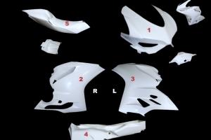 Ducati 1199 Kompletní sada 5-dílná Racing Termignoni