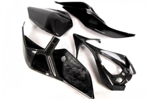 Seat open Street Version  - preview of seat on OEM subframe Carbon