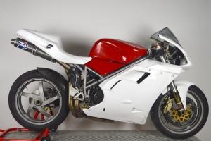 Ducati, 748,916,996 998 , 95-03 / Sedlo racing AMA SBK - 2 výdechy  GFK - na moto