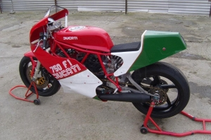 Ducati F1 750cc 1985-1988  parts on bike TT600
