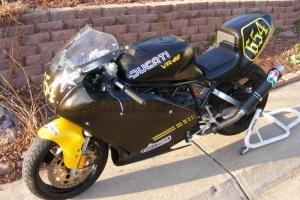 parts Motoforza - built Ducati 750 / 620ss frame