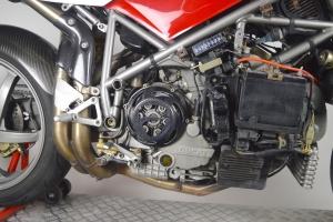 Kryt výfuku Ducati 748,916, 996, 998 CARBON