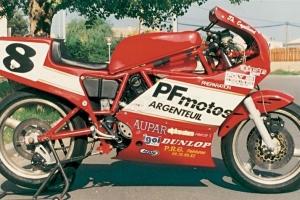 Ducati F1 750cc 1985-1988  parts on bike