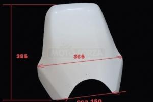Ducati Monster / UNI - Vrchní díl - štítek - verze 2, GFK - rozměry