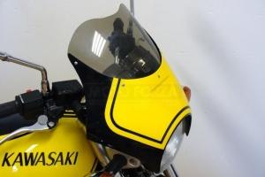 štítek maskam UNI, GFK na Kawasaki Zephyr 1100