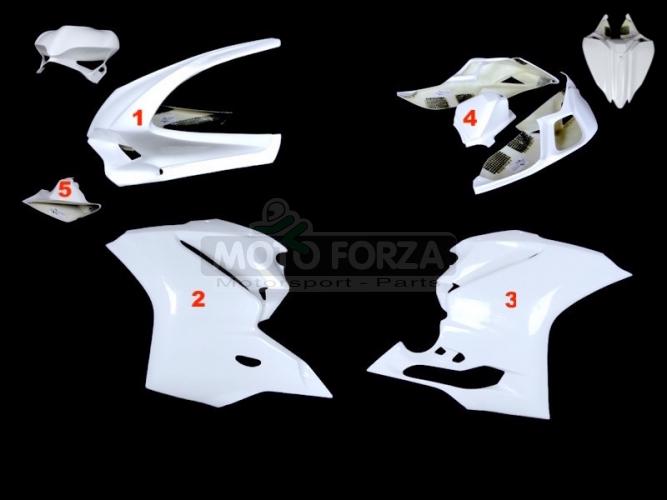 Kompletní sada 4-dílná racing - OP - Ducati 1299, 959 Panigale 2015-2018