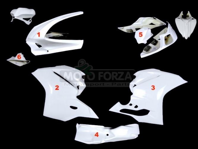 Kompletní sada 5-dílná racing - OP - Ducati 1299, 959 Panigale 2015-2018