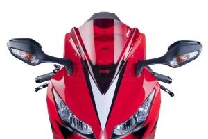 Plexi PUIG - racing Double Bubble