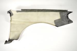 Motoforza Honda CRX aero body kit GT style - Levý přední blatník, GFK-sklolaminát