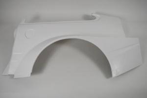 Honda CRX Sforza Racing Team - Aero Body KIT GT STYLE - Left rear part, GRP fibreglass