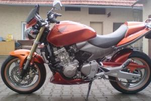Hornet 600F 2006 díly Motoforza GFK  na motocyklu