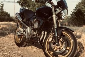 Honda Hornet 600F 2005 díly Motoforza CARBON  na motocyklu