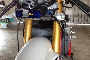 Airbox HRC - set  on the bike