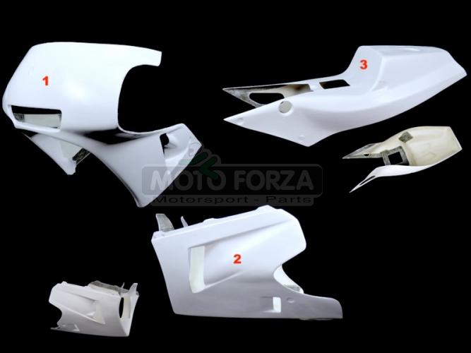 Honda VFR 750R RC 30 1990 - Complete set 3-pieces Racing version 2, GRP