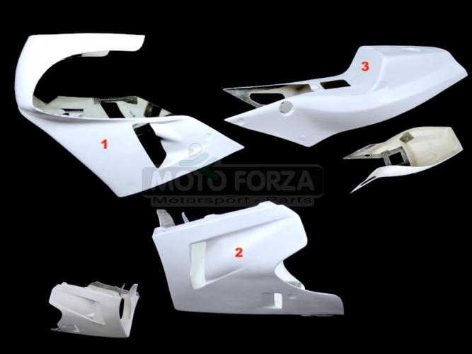 Honda VFR 750R RC 30 1990 - Complete set 3-pieces Racing version 1, GRP