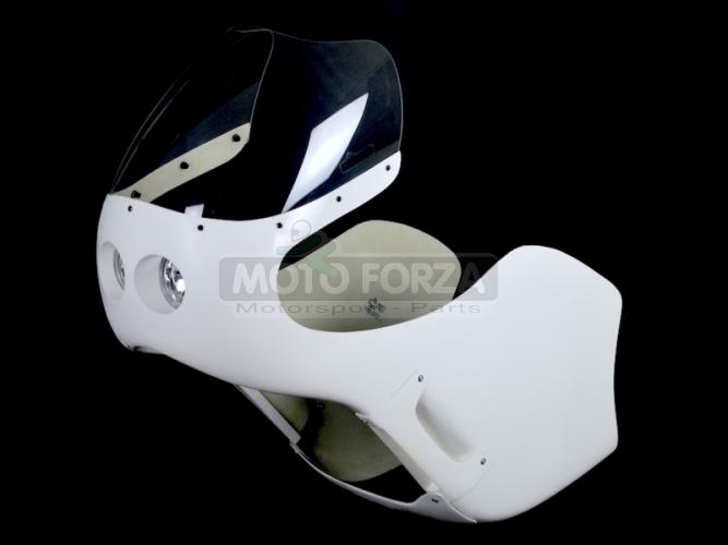 Honda CB 250,350,450,500 Fairing - set with headlight 2x90mm - Honda CR 500cc /CR 450cc, GRP