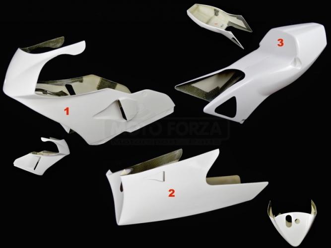 Honda RS 250 94-97  Complete set 3-piece racing GRP