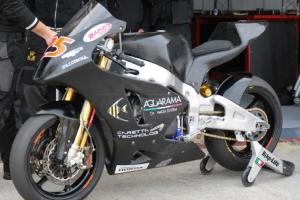 Moto 2, ICP Caretta, 2010- / parts motoforza on bike