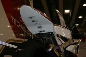 Moto 2 ICP carreta  Kompletní sada 5-dílná racing, GFK - na moto