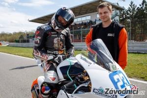 Kawasaki ER6 Supertwin Mototoforza spec 2 Michal Indi Dokoupil motopoint racing team