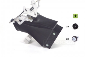 Kawasaki ZX-6R Ninja 2009-2012  airduct + front bracket