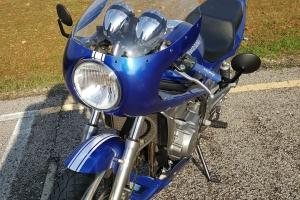 Polokapotáž GFK-sklolaminát Laverda SFC 750, Motoguzzi, Triumph na moto Kawasaki ER5 2000