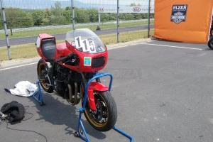 Polokapotáž racing Laverda, Moto Guzzi atd., GFK - na Suzuki GSF