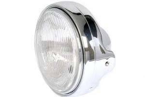 SET - UNI Polokapotáž 350-1000cc - se světlem 7 Palců