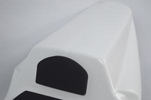 Foam seat pad TYPE C -  on seat closed racing Triumph 675 2006-2012