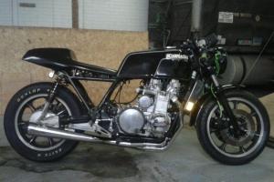 Part on bike on Kawasaki KZ1300 1980