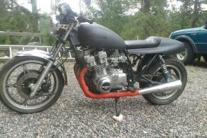 Part on bike on Suzuki GS70l