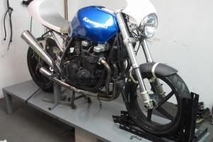 Upper part - Flyscreen - UNIVERSAL, version 3, GRP - Cafe racer -  Kawasaki ZR750 2000