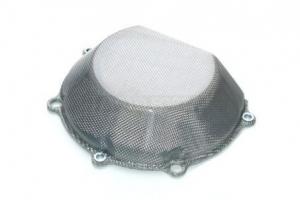 Clutch cap - Half size - Titanium silver / Kevlar-Carbon