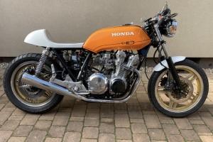 Parts motoforza on bike Honda CB 750F 1984