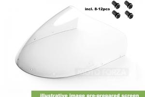 Plexisklo pro polokapotáž UNI 125-350cc